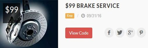 $99 mobile mechanic brake service